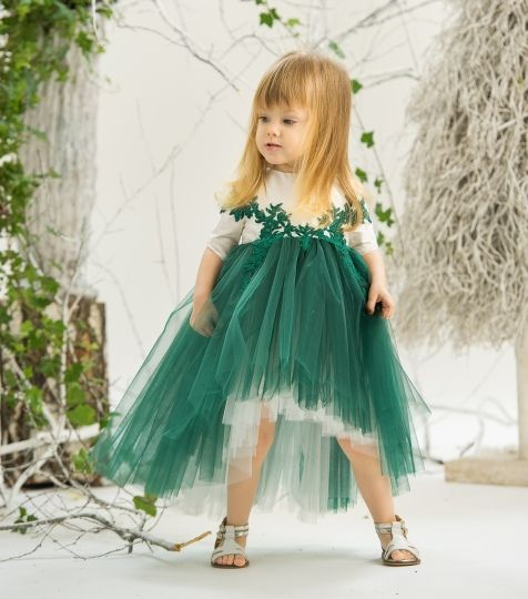 """Jade Forest Fay"" Dress Model: Iris Photo: Poze cu Staif Decorations: Atelier Florens"