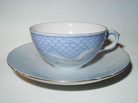 Mávastellið Tea Cup, Blå Måsen, Bing & Gröndahl, Denmark
