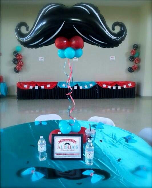 Mustache decoration