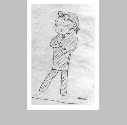 El nudo gordiano. Caricaturas de Alejandro de la Sota - Arquitectura Viva · Revistas de Arquitectura