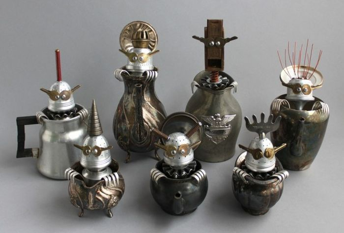 Sculptures Made From Scrap