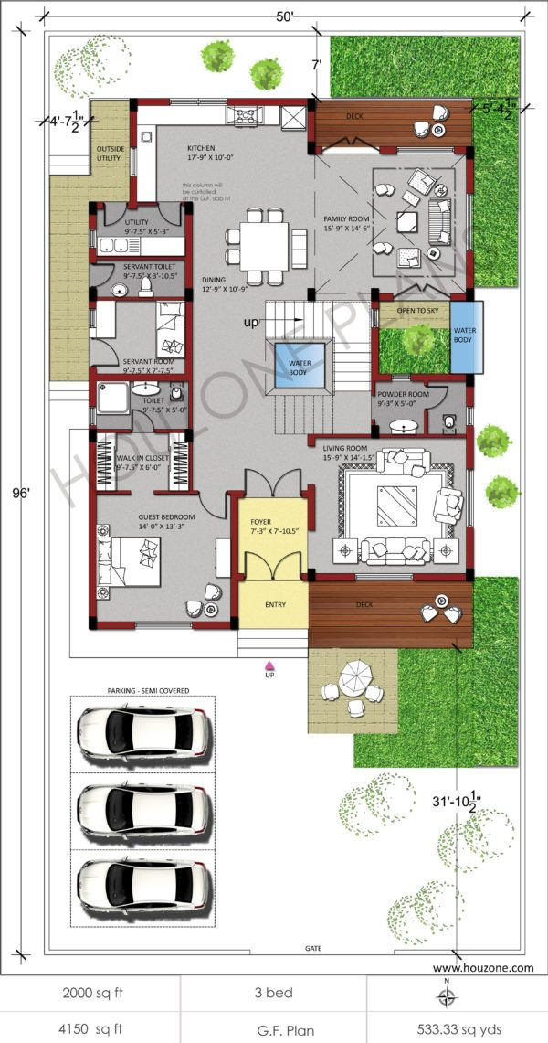 Houzone House Designs Floor Plans Interiors Custom Made For You Order Online Beautiful House Plans Duplex House Plans Vastu House
