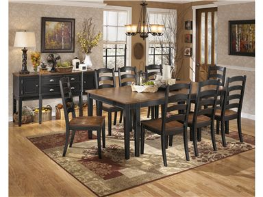 Owingsville Dining Room Extension Table Set By Signature Design Ashley