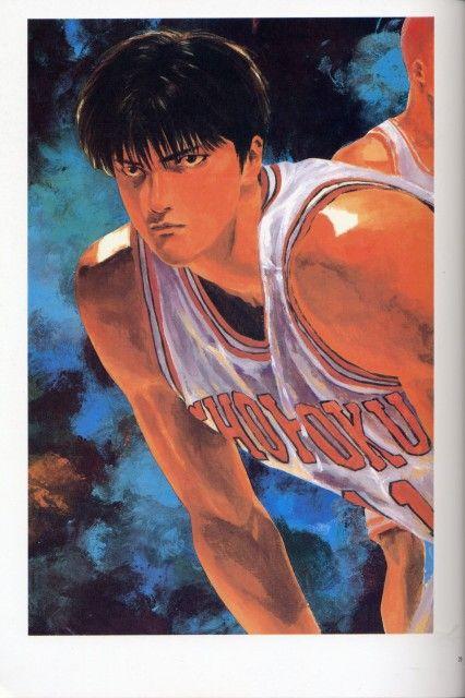 Takehiko Inoue, Slam Dunk, Kaede Rukawa