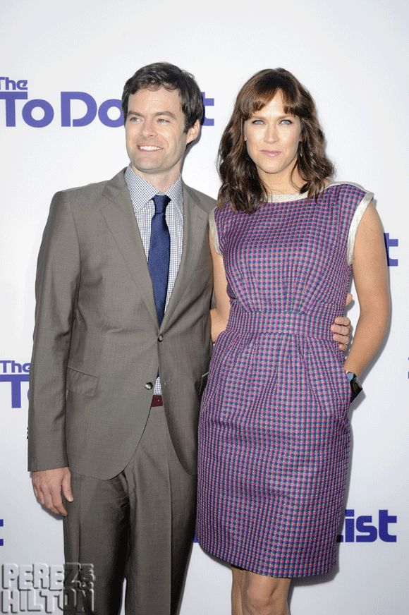 Bill Hader & His Wife Welcome Child Number Three! Find Out The Gender & The Name HERE!