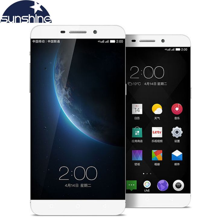 Original Letv Max X900 LeEco Max X900 4G LTE Android Mobile Phone Octa Core 6.3'' 21.0MP ID touch phone 4G RAM Dual SIM Card