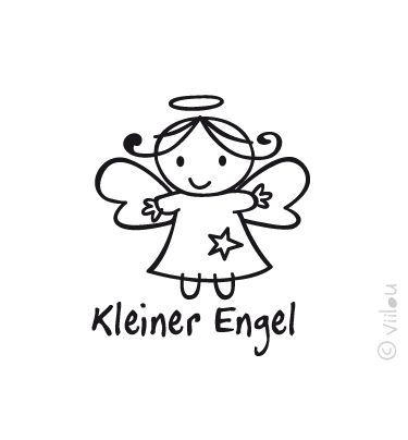Engel Velours Applikation Aufbügler Angel pimp from viilou by DaWanda.com