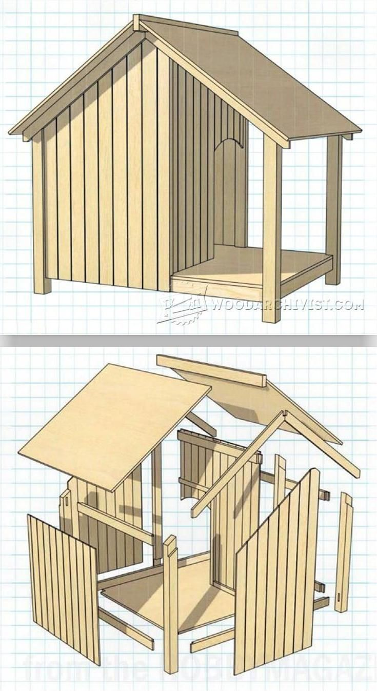 Dog Kennel Plans - Outdoor Plans and Projects | WoodArchivist.com