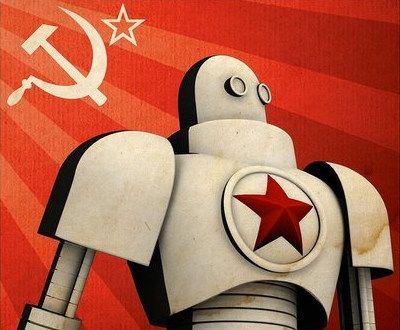 soviet robot poster