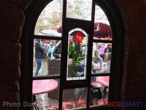 Red Rose Taverne    The Beauty and the Beast overlay of Village Haus restaurant