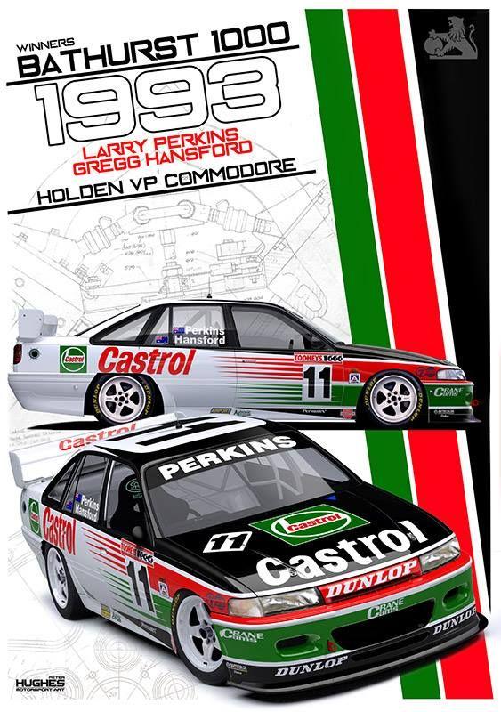 Print 116: 1993 Bathurst Winner