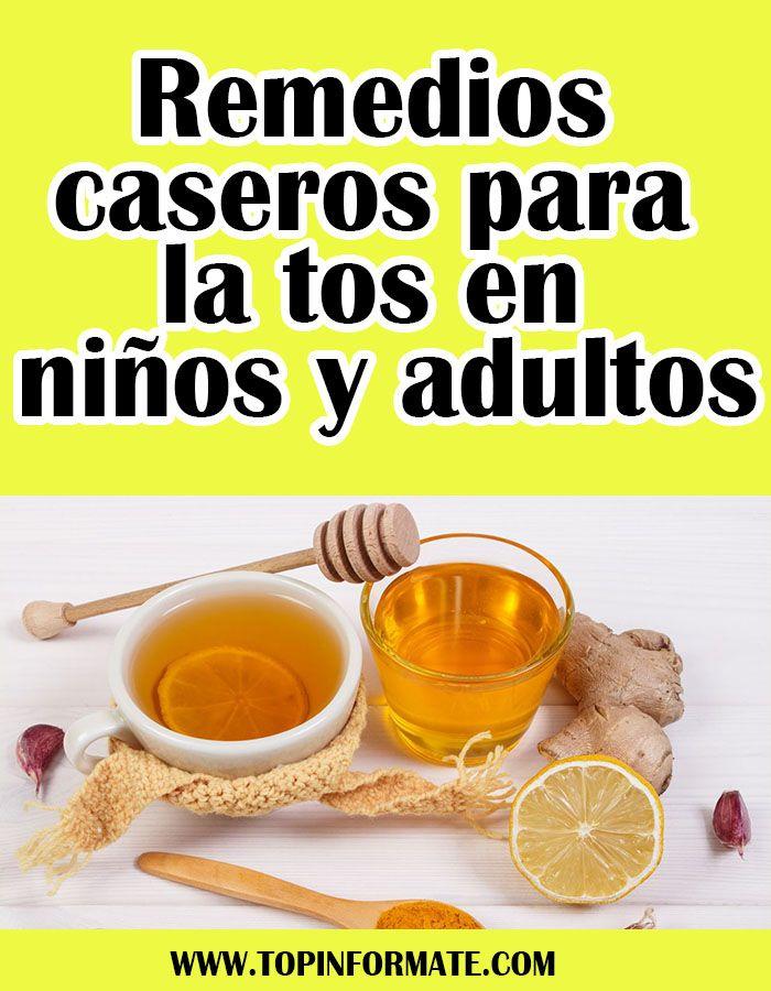 remedio para la tos seca en adultos