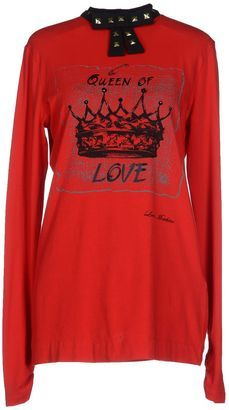 LOVE MOSCHINO T-shirts - Shop for women's T-shirt - Red T-shirt