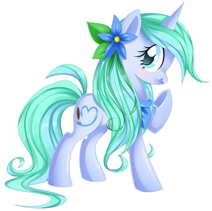 Giggles likes flowers she is a painter and and very fond for Jardines de poni