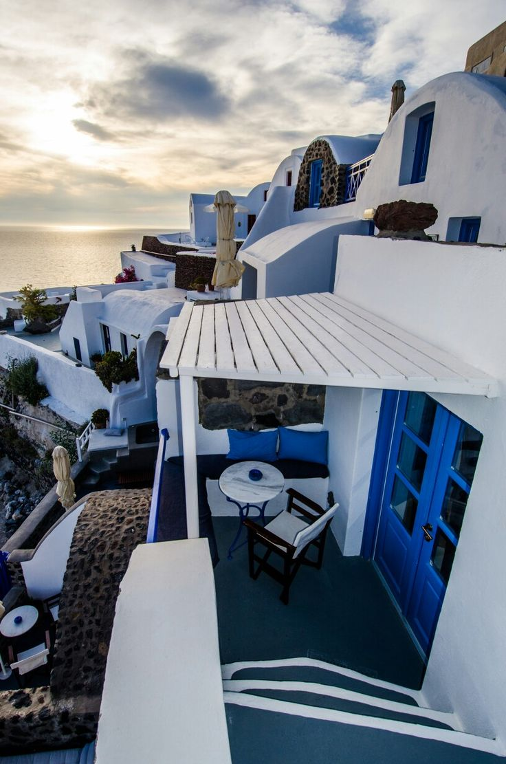 Enjoy spectacular views in an authentic traditional Santorini style accommodation.