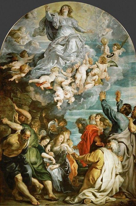 Рубенс - Вознесение Марии.