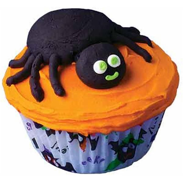 spider snack cupcakes just the creepy crawly treats that kids of all ages love halloween cupcakes decorationholiday - Halloween Cakes Decorations