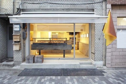 Panscape Bakery by ninkipen! - Interior design for a bakery shop in Kyoto, Japan