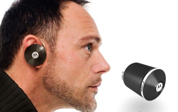 Motorola Earphones by Howard Nuk, via Behance