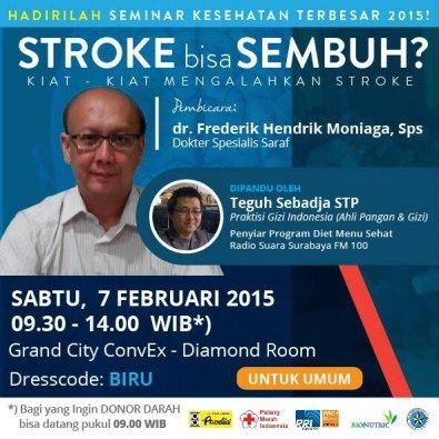Seminar Kesehatan : STROKE bisa SEMBUH
