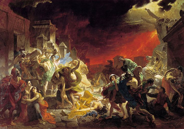 Karl Bryullov, The Last Day of Pompeii, 1833, The State Russian Museum, St. Petersburg, Russia