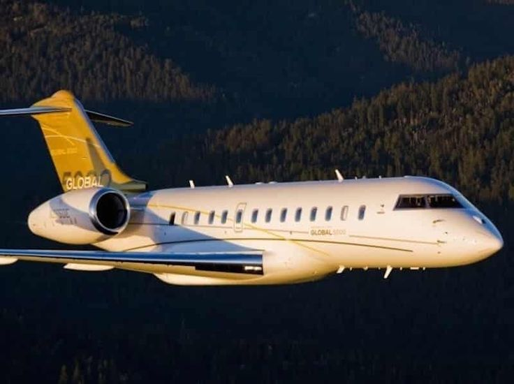 Bombardier-Martin-Bouygues Le Bombardier Global de Martin Bouygues