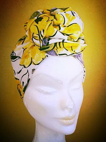Summer? Claudia Errante fashion turban