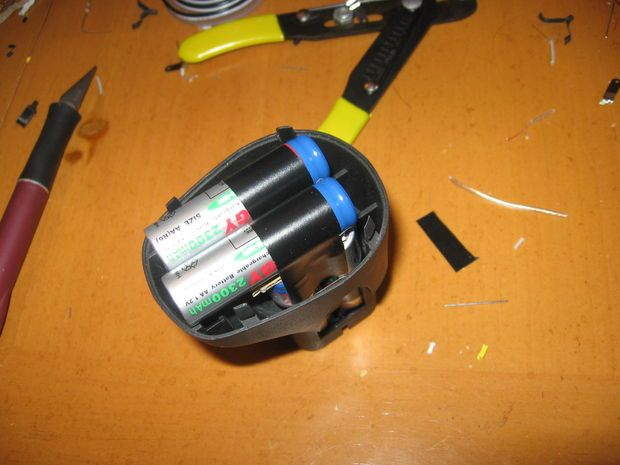 Cordless Dremel Battery Pack Upgrade: 4 Steps