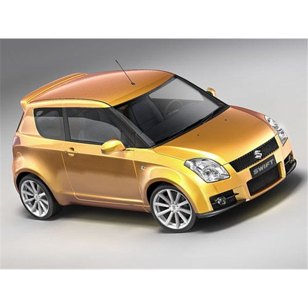 Suzuki Swift Sport 2007 - 3D Model | High Quality 3D ...