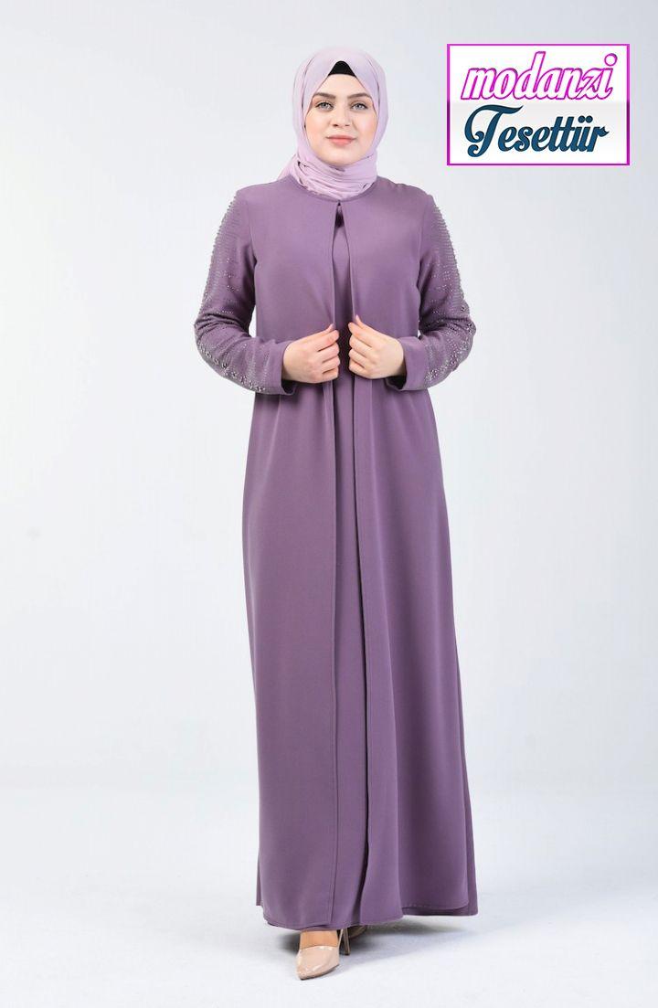 Sefamerve Buyuk Beden Abiye Buyuk Beden Tas Baskili Abiye Elbise 1014 04 Koyu Lila 2020 Elbise Elbise Modelleri Moda Stilleri