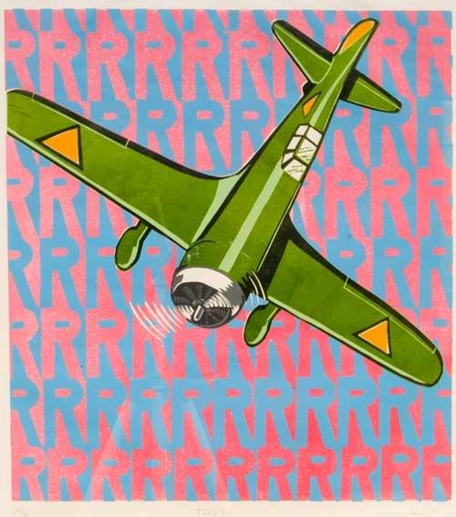 Erik Kriek - Fokker - Zeefdruk #collectievissen #wereldwijd