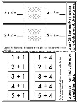 Engage New York Aligned Interactive Notebook: Grade 1