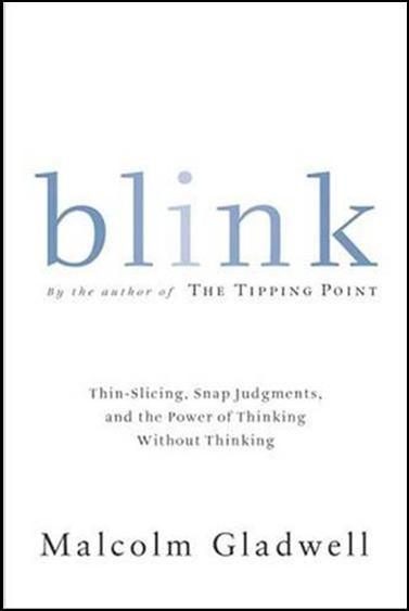 An Interesting Book which talks about  how we think without thinking, about choices that seem to be made in an instant-in the blink of an eye-that actually aren't as simple as they seem.