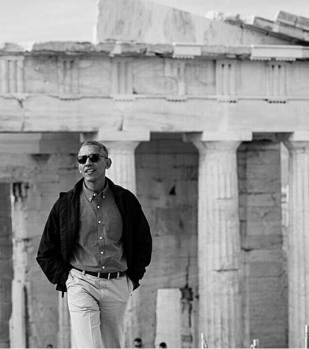 President Obama in Acropolis | Athens | Greece