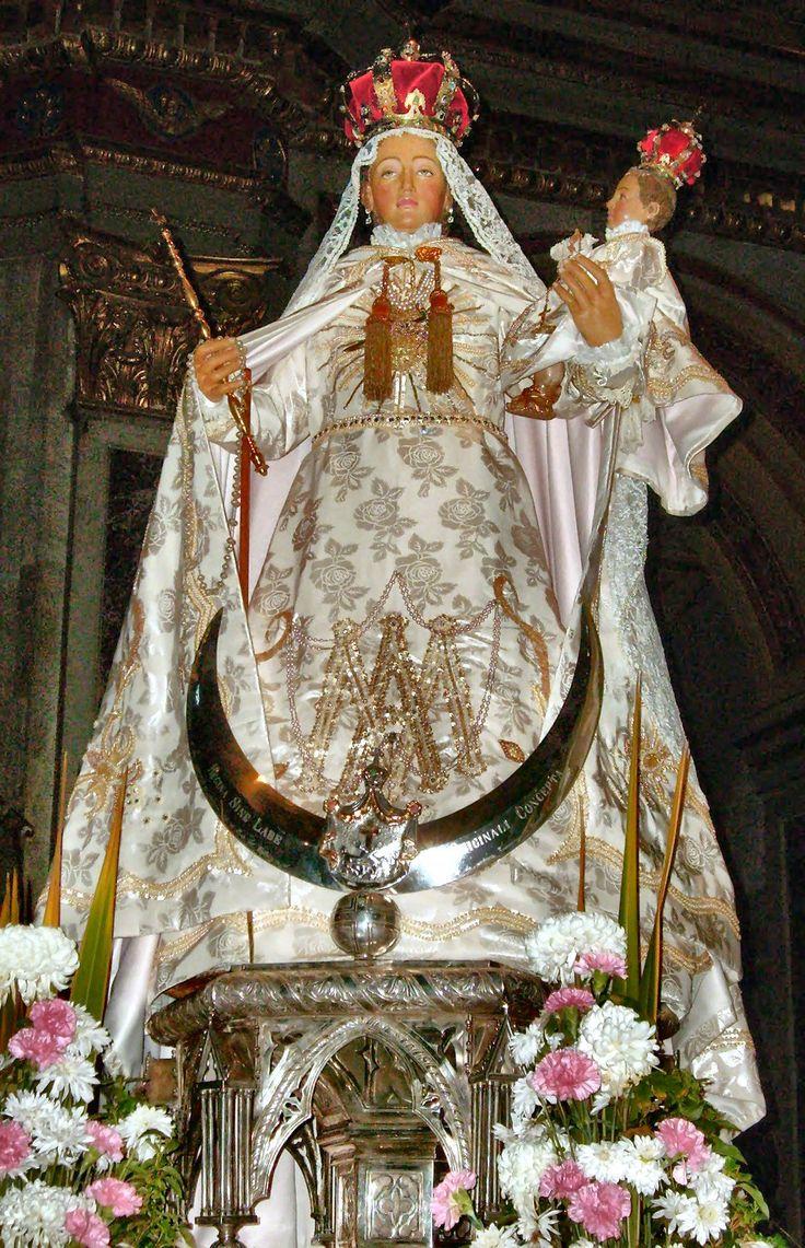 Puntadas marianas: Nuestra Señora del Milagro de Lima.