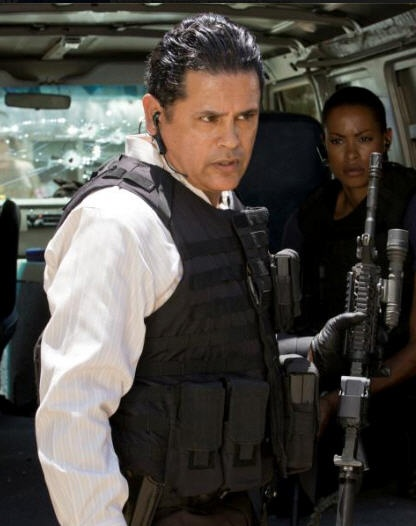 Yum. Ha. #Raymond Cruz, Major Crimes. Wanted to post this in Around the House...