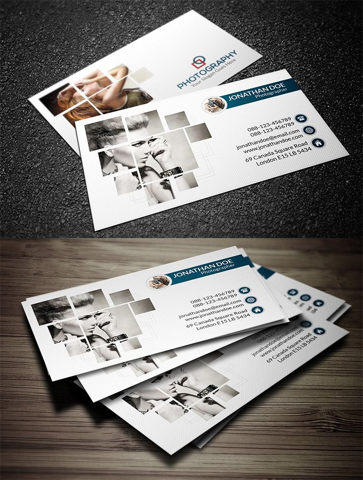 40 Photography Business Card Templates Design With Red Photography Business Cards Template Photography Business Cards Free Business Card Templates