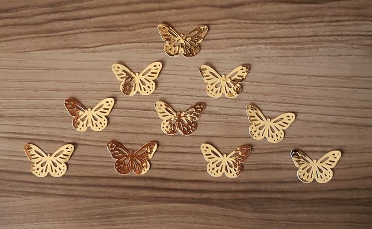 Mariposas doradas