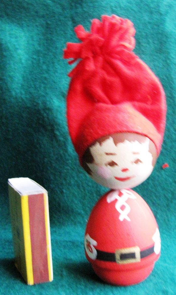 SWEDISH CHRISTMAS Gnome Troll  DOLL SWEDEN Tomte Santa Elf design CM RARE