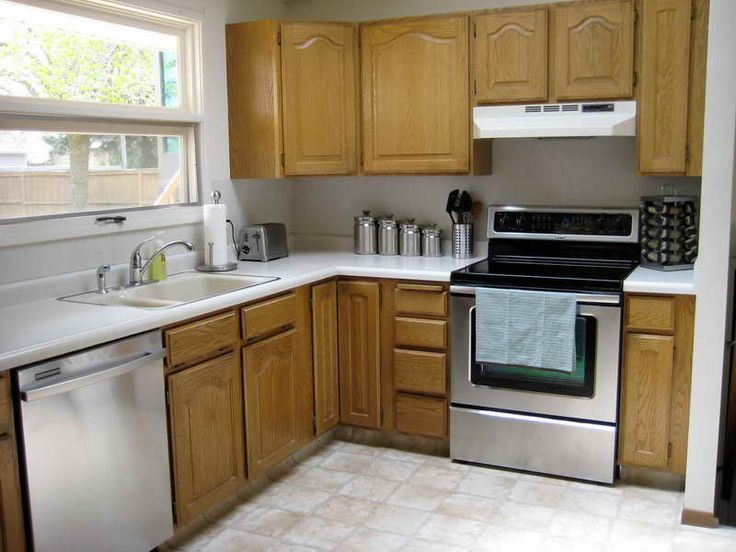 kitchen cabinet makeover design httpmodtopiastudiocomlow budget - Oak Kitchen Cabinet Makeover