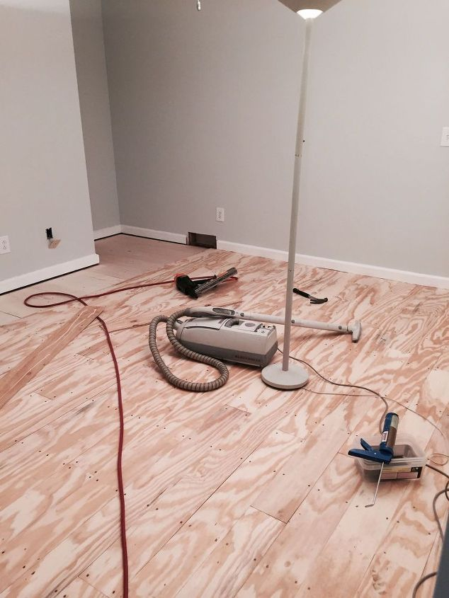 DIY: How to Install Wood Flooring for Less than $1 sq. ft. - using ...