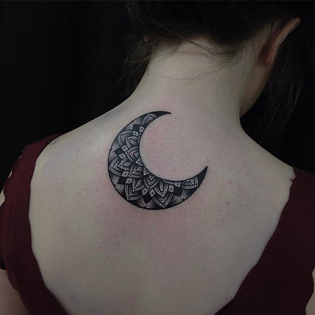 moon tattoo mandala on Instagram
