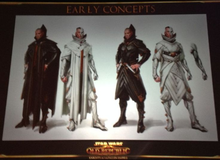 Knights of the Fallen Empire Story Concepts and Cut Malgus Scene