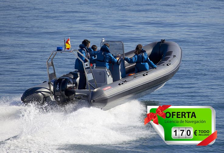 Oferta curso Licencia de Navegación en Barcelona