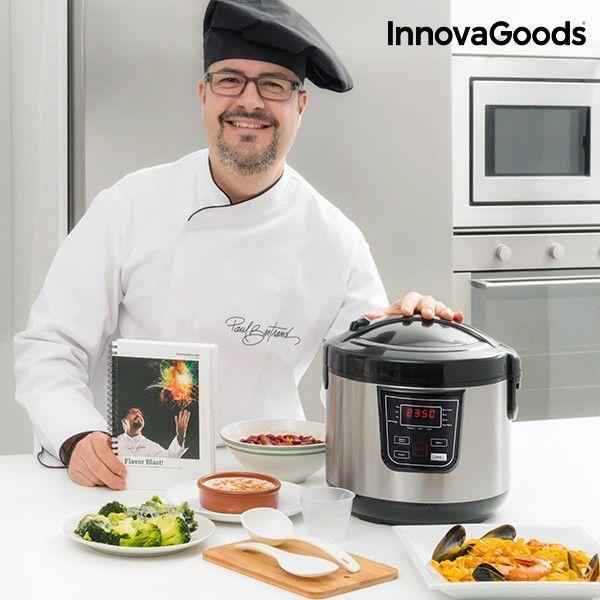 #Küchenmaschine mit #Rezeptbuch 4 L 800W Schwarz Stahl #Kochen #Thermomix #Rezepte #Küche