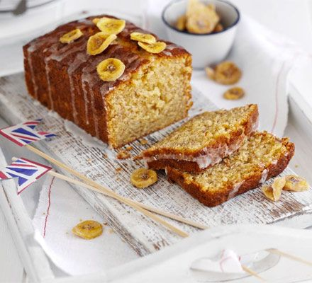 A cross between banana bread and a drizzle-topped sponge, this cake is great for using up overripe fruit