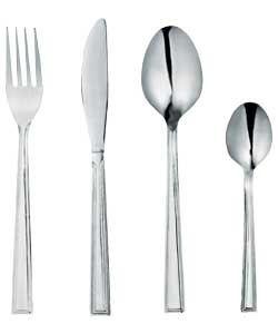 3.99 Simple Value 24 Piece Venice Cutlery Set. 801/1792