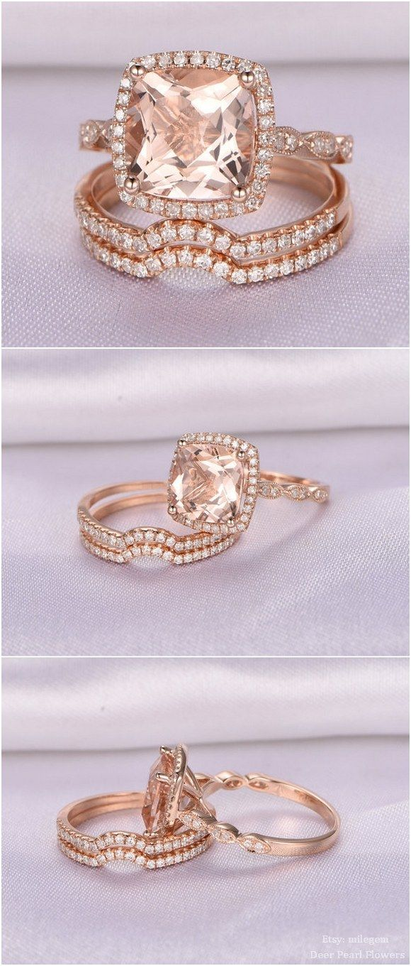 Custom made diamond engagement ring,white/rose/yellow gold.Rush order,Engrave
