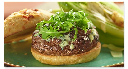 Stuffed burgers are a must for game day-make it possible with the Big Green Egg stuff-a-burger press!