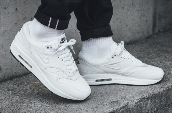 Look For The Nike Air Max 1 Premium Jewel White Now